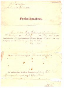 forholdsattest-14-bataillon-aarhus-30-9-1890